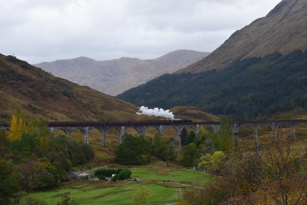 Der Glenfinnan-Viadukt in Schottland