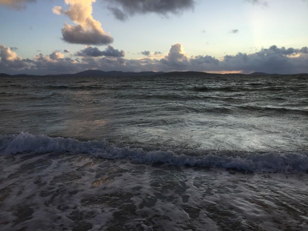 Auf Eriskay gibt es wunderschöne Sonnenuntergänge