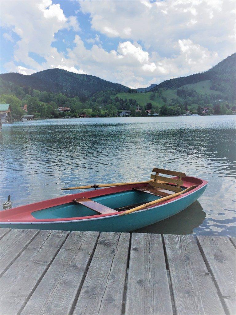 Boot am Schliersee